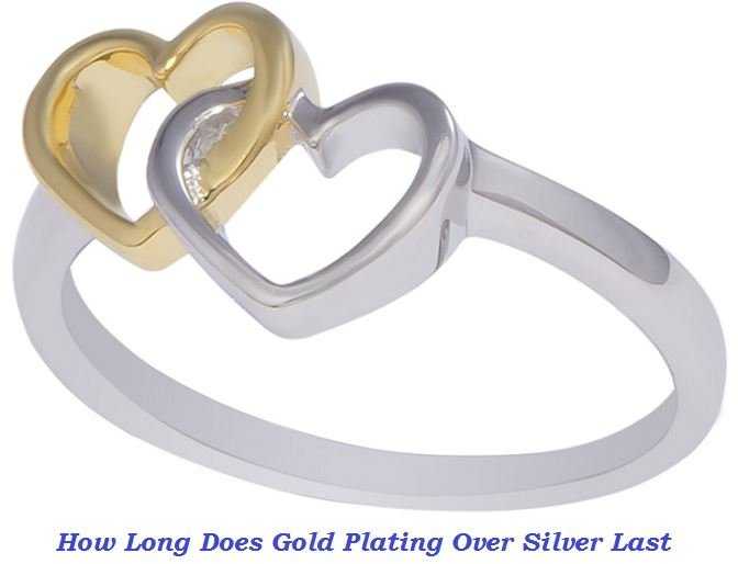How long does gold plating over silver last