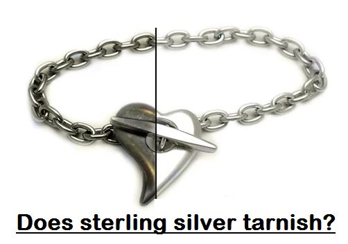 does sterling silver tarnish