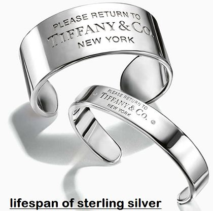 lifespan of sterling silver