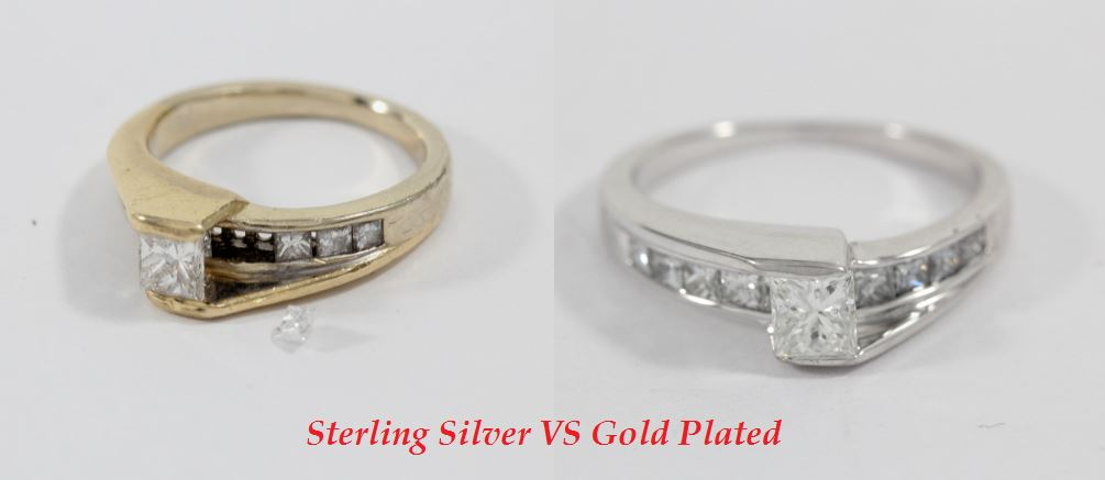 sterling silver vs gold plated