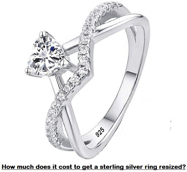 how much does it cost to get a sterling silver ring resized