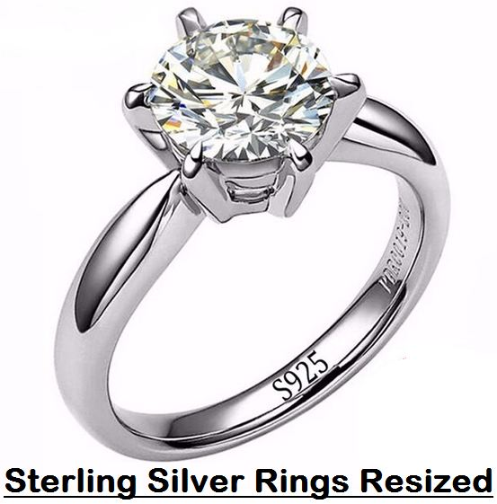 sterling silver rings resized