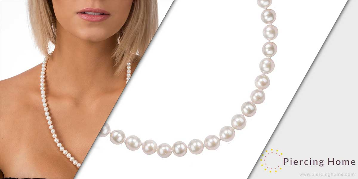 PAVOI Handpicked Freshwater Cultured Pearl Necklace Strand
