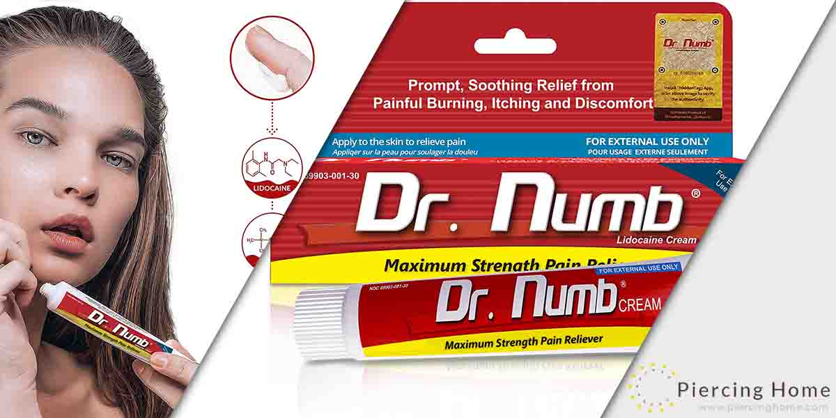 Dr.Numb 5% Lidocaine Topical Anesthetic Numbing Cream