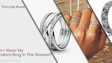 Can I Wear My Pandora Ring In The Shower?