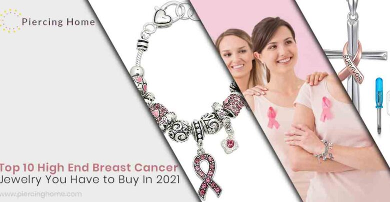 Top 10 High End Breast Cancer Jewelry You Have to Buy In 2021